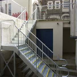 Fire Escapes, Access Stairs and Walkways